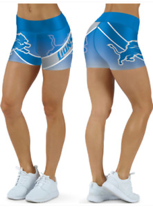 Detroit Lions Small to 2XL Women's Shorts
