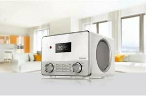 Hama IR111 Internetradio Spotify weiß WLAN LAN Streaming USB Internet Radio