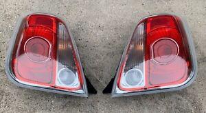 2018 Fiat 500c Turbo Convertible Drivers Left Passenger Right Tail Light Set OEM