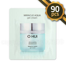 O Hui Miracle Aqua GEL Cream 1ml X 90pcs (90ml) Moisturizing OHUI