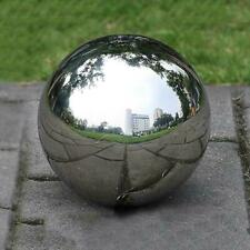 New Listing1pc 30cm Stainless Steel Sphere Mirror Gazing Globe Ball Outdoor Garden Ornament