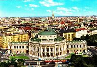 Wien , Burgtheater  , Ansichtskarte ,1968 gelaufen