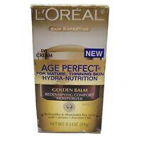 L'Oreal Skin Expertise Age Perfect Hydra-Nutrition Golden Balm Eye Cream Dam Box