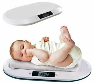 Digital Electronic Weighing Scales Baby Infant Pet Bathroom 20KGS/44LBS MAX Home