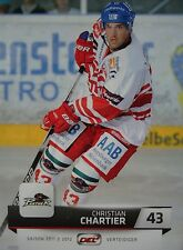 007 Christian Chartier Augsburger Panther DEL 2011-12