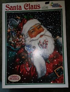 "White Mountain Puzzle, ""Santa Claus"", 1000 Pieces, Lynn Bywaters"
