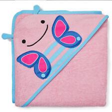 Skip Hop Zoo Hooded Towel Kids Baby Bathing Cotton Bathroom washcloth