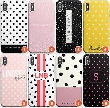 Customised Polka Dot Designs Slim Phone Case for iPhone | Custom Spots Name Uniq