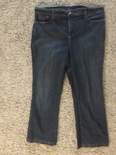 "Women's NYDJ Sz 16 Denim Jeans. Inseam 27"". EUC"