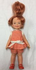 VTG 1972 1971 IDEAL Baby Chrissy Doll Chrissie Red Hair Cinnamon Toy Dress Grows