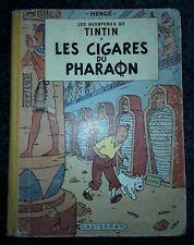 Tintin - Les cigares du pharaon - EO du 3ème trimestre 1955 - Hergė