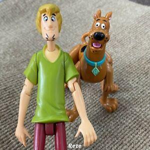 2PCS Scooby Doo Scooby & Shaggy 4'' Cartoon Action Figure Doll Kid Toys Gift