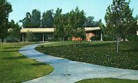 Vintage Kaiser Foundation Hospital, Fontana, CA Frontal View Postcard P128
