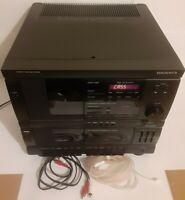 Magnavox Model AH194M Vintage CD Dual Cassette AM/FM Radio Stereo Unit *see desc