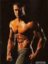 """054 Greg Plitt - American Fitness Model Actor 14""""x19"""" Poster"""
