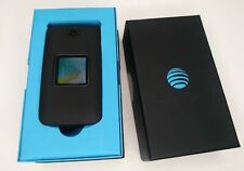 New listing At&T Cingular Flip 2 4G Lte Flip Phone 4044O Black with belt carrier