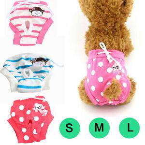 Stylish Female Pet Dog Diaper Pants Physiological Sanitary Puppy Short Underwear