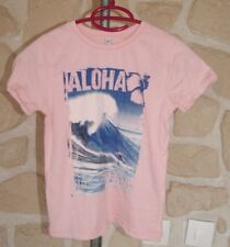 Tee shirt rose surf neuf taille 5 ans (b)