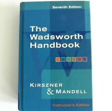 The Wadsworth Handbook 7th Edition Instructor's Edition