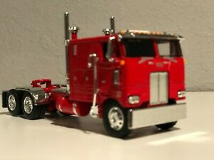 "RED  DCP 1/64 352 PETERBILT 110"" SLEEPER 245"" FRAME SHOW PARTS"