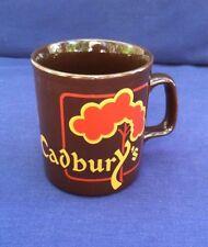 Cadbury's Coffee Mug Kiln Craft Tableware England Stratfordshire Potteries Good