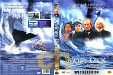 Moby Dick (1998) - Franc Roddam, Patrick Stewart, Gregory Peck  DVD NEW