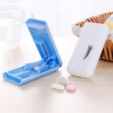 Tablet Pill Cutter Splitter Medicine Box Storage Case Crusher Grinder DividerK2