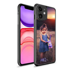 PERSONALISED Custom PHOTO Phone Hard Case Cover For All iPhone Samsung Huawei