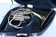 Yamaha French Horn YHR322 YHR 322 With Hard Case, Mouthpiece, Oil& Ready to Play