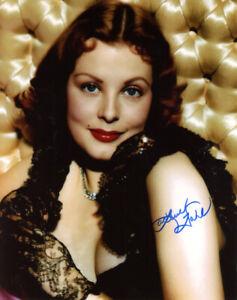 ARLENE DAHL SIGNED AUTOGRAPHED 8x10 PHOTO LEGENDARY ACTRESS BECKETT BAS