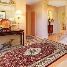 Orientteppich Vintage Perserteppich mit Ornamente | Teppich orientalisch Rot NEU