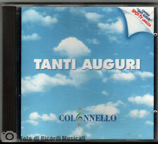 COLONNELLO - TANTI AUGURI  Spot Lavazza 1996 CD