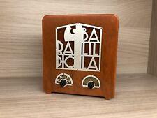 Miniatura riproduzione Radio Balilla Unda 1937 vintage No Marelli