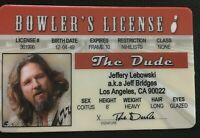 Big Lebowski The Dude novelty Drivers License ID Bowling Bowler Jeff Bridges