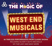 The Magic Of West End Musicals - 3 CD SET - BRAND NEW LES MIS ANNIE 60 SONGS