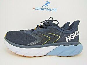 MEN'S HOKA ONE ARAHI 5 size 9.5  !WORN LESS THAN 35 MILES! RUN!! WITH DAMAGE