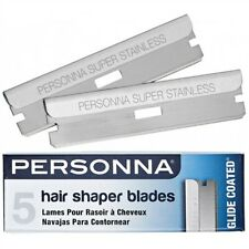 Personna Hair Shaper Blades (5 packs of 5 blades)