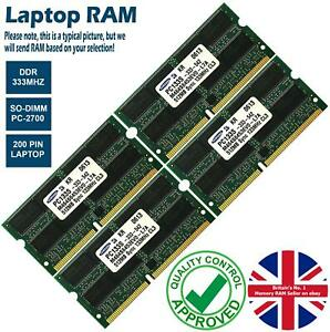 2GB 4GB 8GB Memory RAM Laptop PC-2700 DDR 333MHz 200 Non-ECC Unbuffered Lot