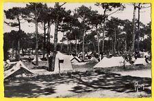 cpsm Rare 85 - SAINT JEAN de MONTS (Vendée) Un CAMPING en 1956 Toiles de Tentes