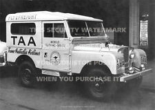 LAND ROVER SERIES 1 1950s TAA AT COOMA A3 PICTURE POSTER PRINT PHOTO IMAGE