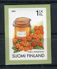 Finlandia /Finland 2005  Frutta mora di bosco autoadesivo MNH