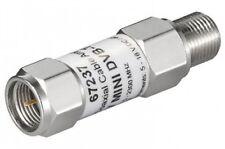 sat dvb-t antennenverstärker mini-koax signal verstärker 18db f-stecker buchse