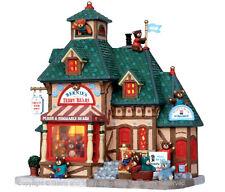 LEMAX 15215 Bernie's osos de peluche Caddington iluminada edificio Navidad Aldea