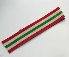 British World War II Italy Star Medal Ribbon 6 Inches Original UK Govt. Issue