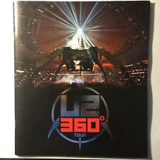 U2 RARE 360 AUSTRALIAN 2010 TOUR SOUVENIR PROGRAM BOOK