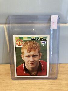 Paul Scholes Rookie Merlin Premier League 95 1995 Sticker #302