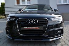 Cup Spoilerlippe für Audi A5 8T S-Line S5 AB 11 Frontspoiler Spoilerschwert Ver1