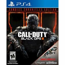 PS4 Call Of Duty Black Ops lll 3 Zombies Chronicles EDITION NEW Sealed Regionfre