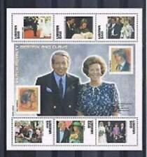 Liberia postfris 2003 MNH vel/sheet 4680-4685 - Beatrix en Claus (16)