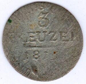 Sachsen-Coburg-Gotha 3 Kreuzer 18..?